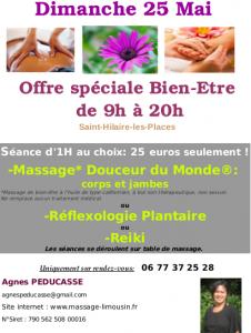 Offre Speciale 25 mai 2014